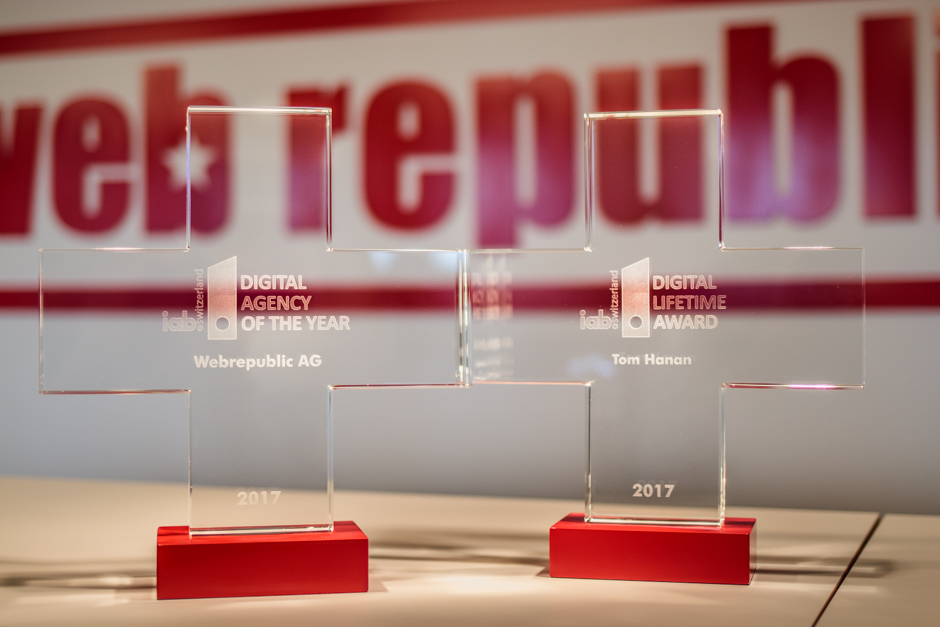 Webrepublic gewinnt ersten «Digital Agency of the year»-Award